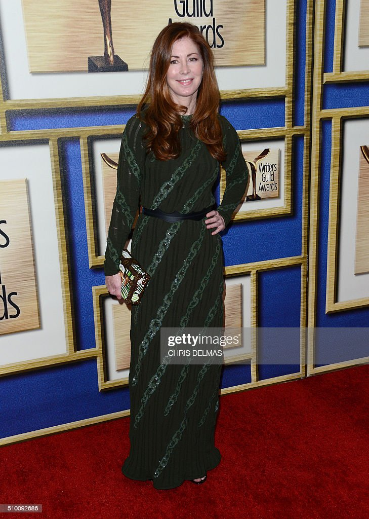 Dana Delany arrives for the Writers Guild Awards in Century City, California, February 13, 2016. / AFP / CHRIS DELMAS