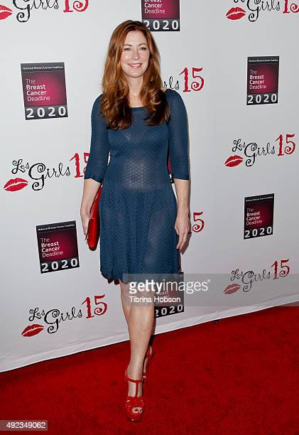 Dana Delany attends the 15th annual Les Girls Cabaret at Avalon on October 11 2015 in Hollywood California