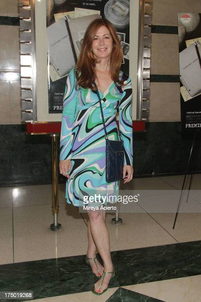 Dana Delany attends the 'Casting By' premiere at HBO Theater on July 29 2013 in New York City