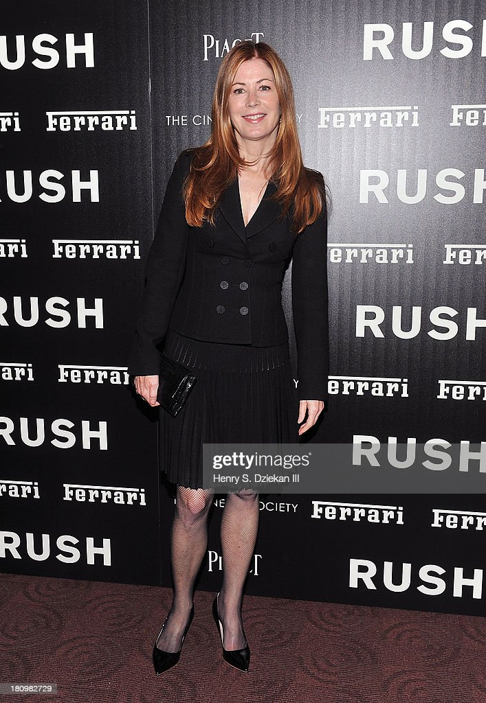 <a gi-track='captionPersonalityLinkClicked' href=/galleries/search?phrase=Dana+Delany&family=editorial&specificpeople=238900 ng-click='$event.stopPropagation()'>Dana Delany</a> attends the Ferrari & The Cinema Society screening of 'Rush' at Chelsea Clearview Cinema on September 18, 2013 in New York City.