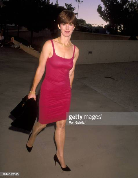 Dana Delany during 42nd Annual Primetime Emmy Awards Rehearsals at Pasadena Civic Auditorium in Pasadena California United States