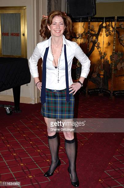 Dana Delany during Bette Midler's New York Restoration Project's 'Hulaween' October 31 2006 at Waldorf Astoria in New York City New York United States
