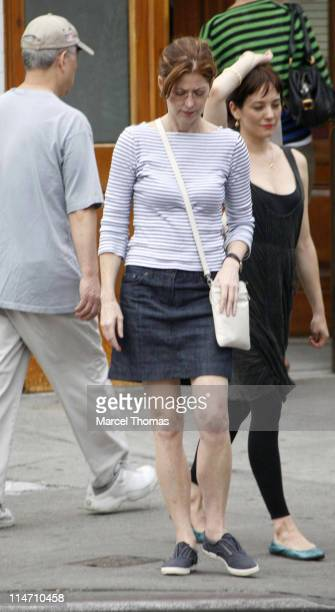 Dana Delany during Dana Delany Sighting in Manhattan September 24 2006 in New York New York United States