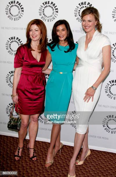 Dana Delany Teri Hatcher Eva Longoria Parker and Dana Delany arrives at the ''Desperate Housewives'' event during PaleyFest09 at the ArcLight...