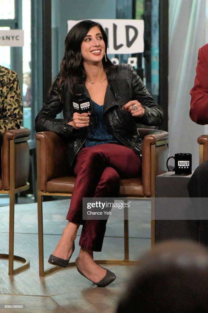 Dana DeLorenzo attends Build series to discuss 'Ash Vs Evil Dead' at Build Studio on October 6, 2017 in New York City.