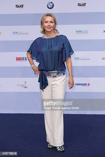 Dana Golombek attends the producer party 2015 of the Alliance German Producer Cinema And Television on June 11 2015 in Berlin Germany