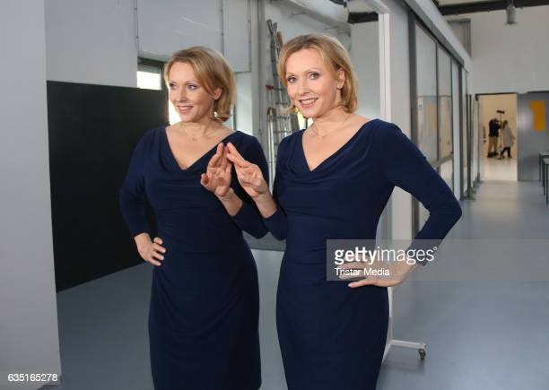 Dana Golombek during the photocall for the TV show 'Rote Rosen' on February 13 2017 in Hamburg Germany