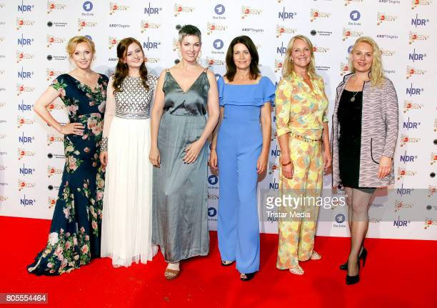 Dana Golombek Malin Steffen Cheryl Shepard Patricia Schaefer Anne Moll and Maike Bollow attends the 'Rote Rosen' TV Show Gala To Celebrates 2500...