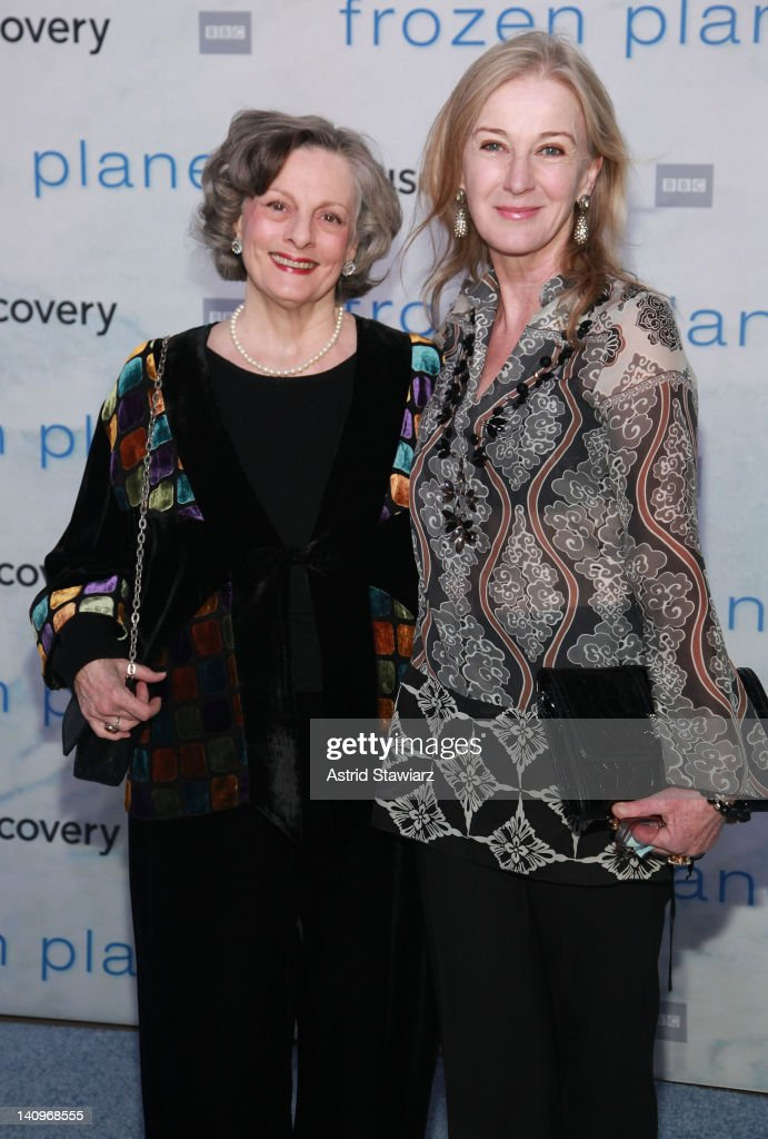 <a gi-track='captionPersonalityLinkClicked' href=/galleries/search?phrase=Dana+Ivey&family=editorial&specificpeople=239012 ng-click='$event.stopPropagation()'>Dana Ivey</a> and Caroline Lagerfelt attend the 'Frozen Planet' premiere at Alice Tully Hall, Lincoln Center on March 8, 2012 in New York City.
