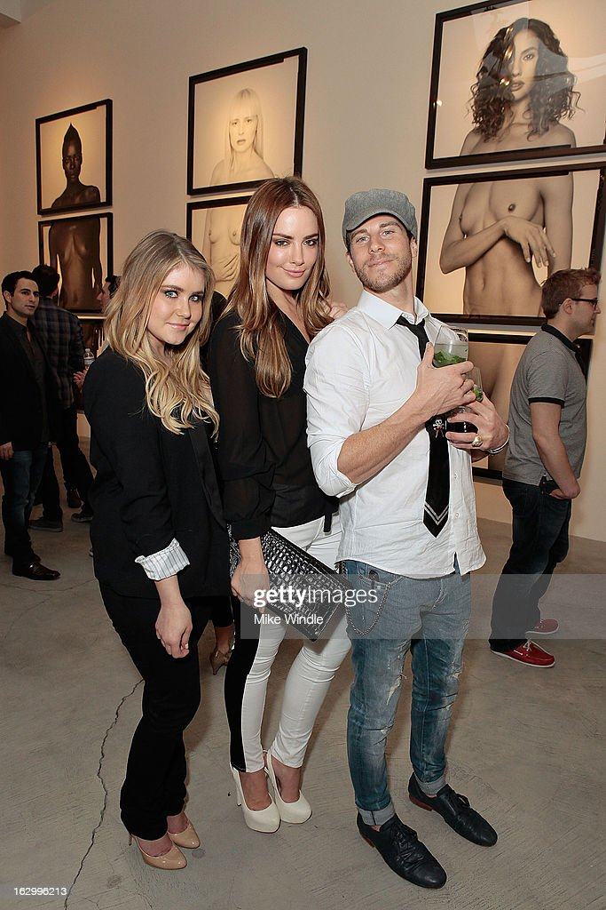 Dana Johnson, Beau Dunn and Gregory Siff attend the Samuel Bayer Ace Gallery Exhibit Opening, presented by Panavision at Ace Gallery on March 2, 2013 in Beverly Hills, California.