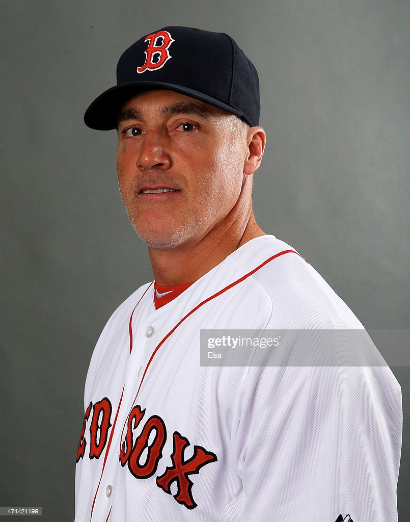 Dana LeVangie #58 of the Boston Red Sox poses for a portrait during Boston Red Sox Photo Day on February 23, 2014 at JetBlue Park in Fort Myers, Florida.