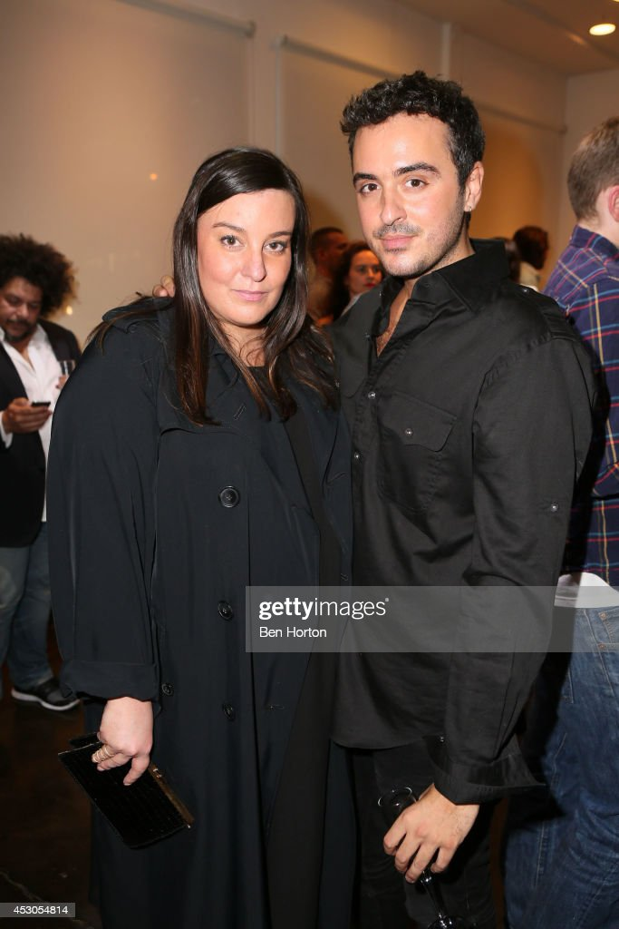 Dana Lorenz and Interior designer Ryan Korban attend Nicole Richie, Eric Buterbaugh and Nevena Borissova host Ryan Korban's 'Luxury Redefined' on August 1, 2014 in Los Angeles, California.