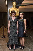 Dana Perry and Goosenberg Kent arrives at the 87th Annual Academy Awards Oscar Week Celebrates Documentaries at Samuel Goldwyn Theater on February 18...