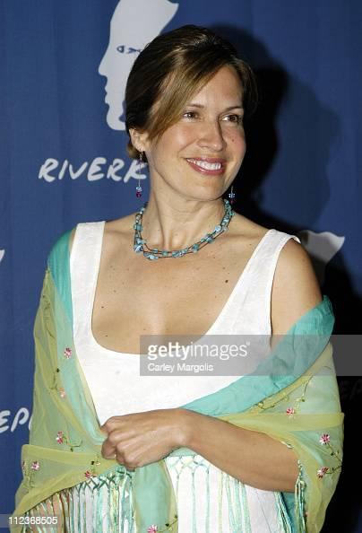 Dana reeve during riverkeeper gala honoring viacom s tom freston at