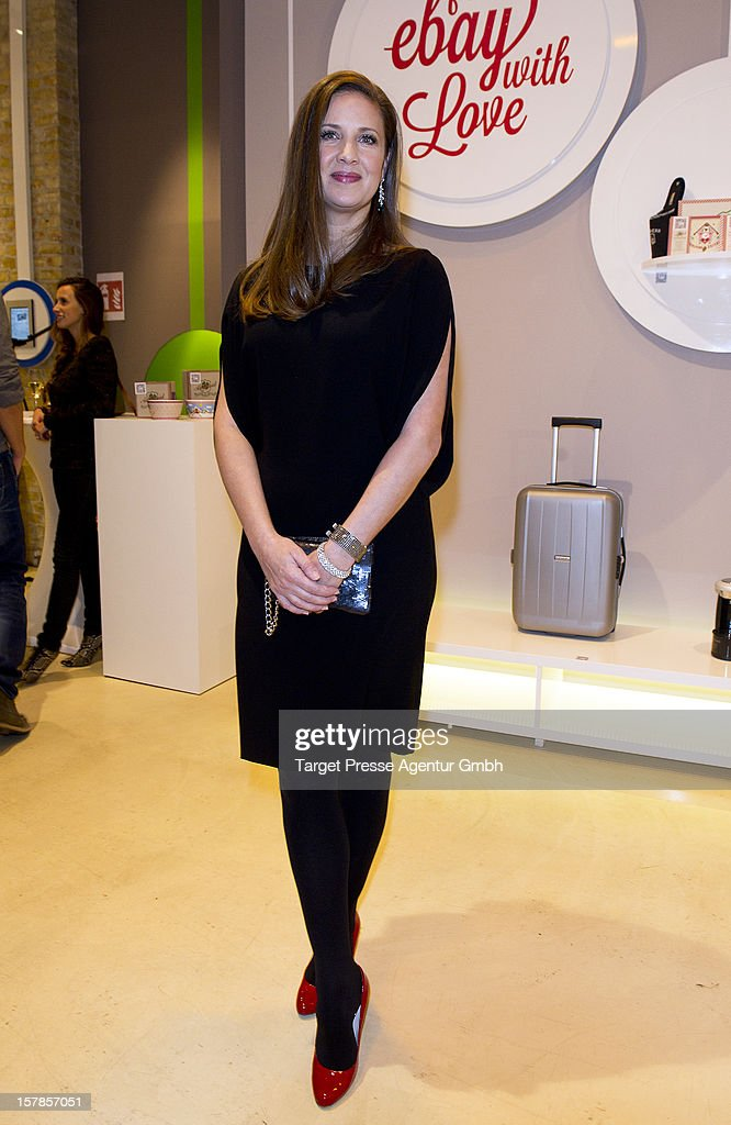 Dana Schweiger attends the Ebay Pop-Up Store opening at Oranienburger Strasse on December 6, 2012 in Berlin, Germany.