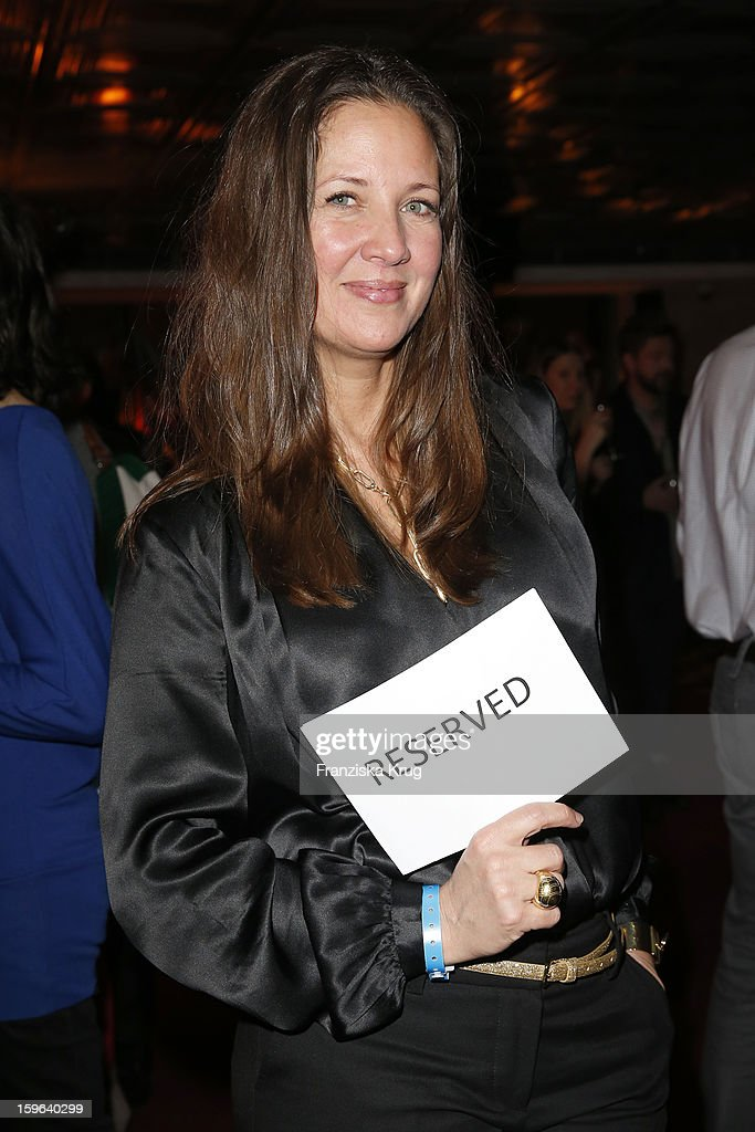 Dana Schweiger attends the 'Laurel After Show Party - Mercedes-Benz Fashion Week Autumn/Winter 2013/14' at Soho House on January 17, 2013 in Berlin, Germany.