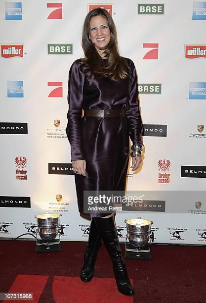 Dana Schweiger attends the 'Movie meets Media' Night at Hotel Atlantic on December 3 2010 in Hamburg Germany