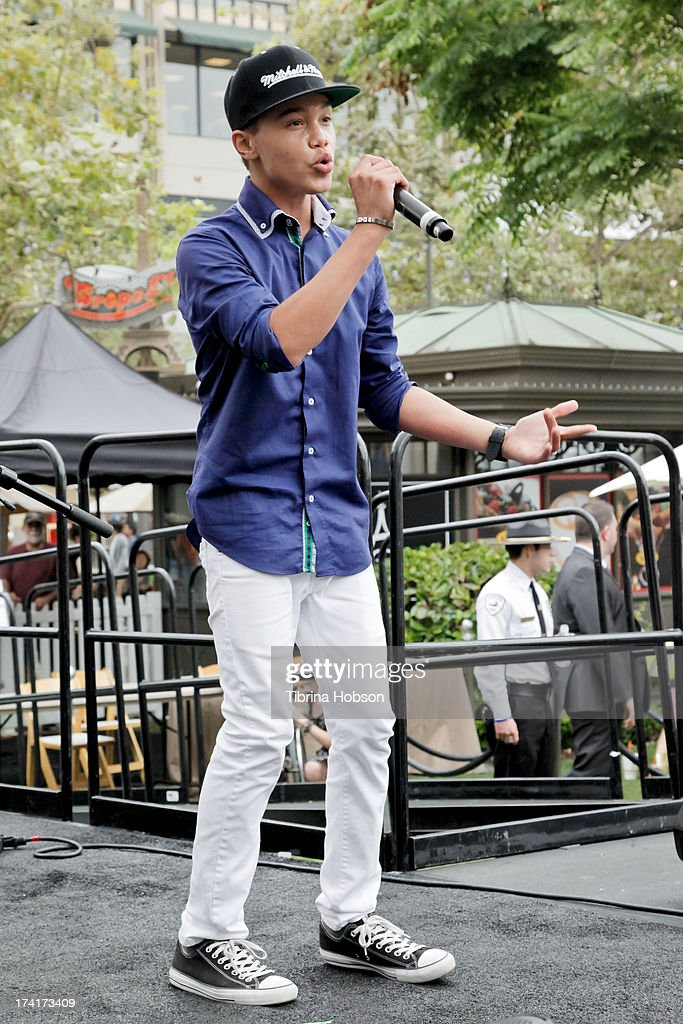 Dana Vaughns performs at the 'Wee Rock!' concert and benefit for the Children's Hospital of Los Angelesat at The Americana at Brand on July 20, 2013 in Glendale, California.
