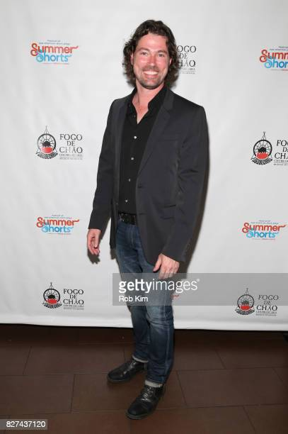Dana Watkins attends the OffBroadway opening night party for 'SUMMER SHORTS 2017' at Fogo de Chao Churrascaria on August 7 2017 in New York City