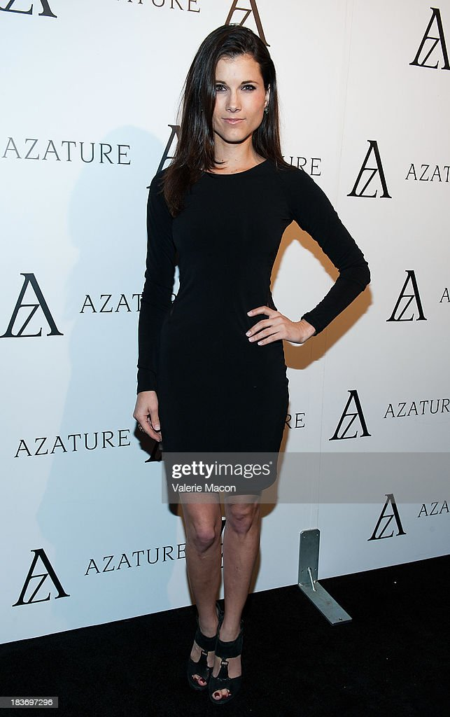 Dana Workman attends The Black Diamond Affair With A Z A T U R E at Sunset Tower on October 8, 2013 in West Hollywood, California.