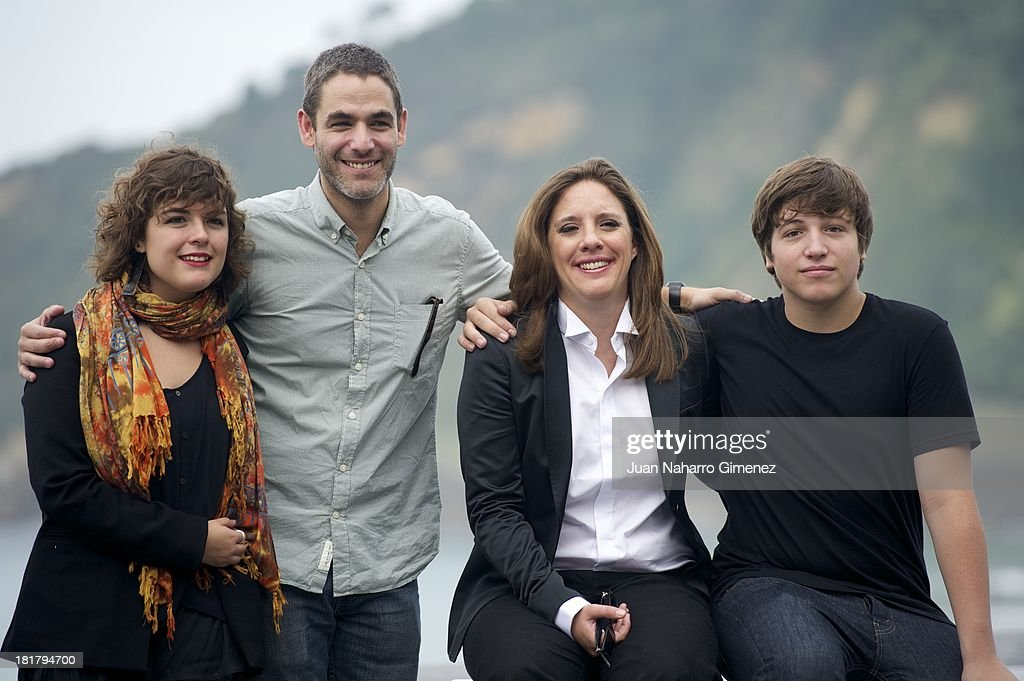 Danae Reynaud, Mexican director Fernando Eimbcke, Maria Renee and Lucio Gimenez Cacho attend the 'Club Sandwich' photocall at Kursaal during 61st San Sebastian International Film Festival on September 25, 2013 in San Sebastian, Spain.