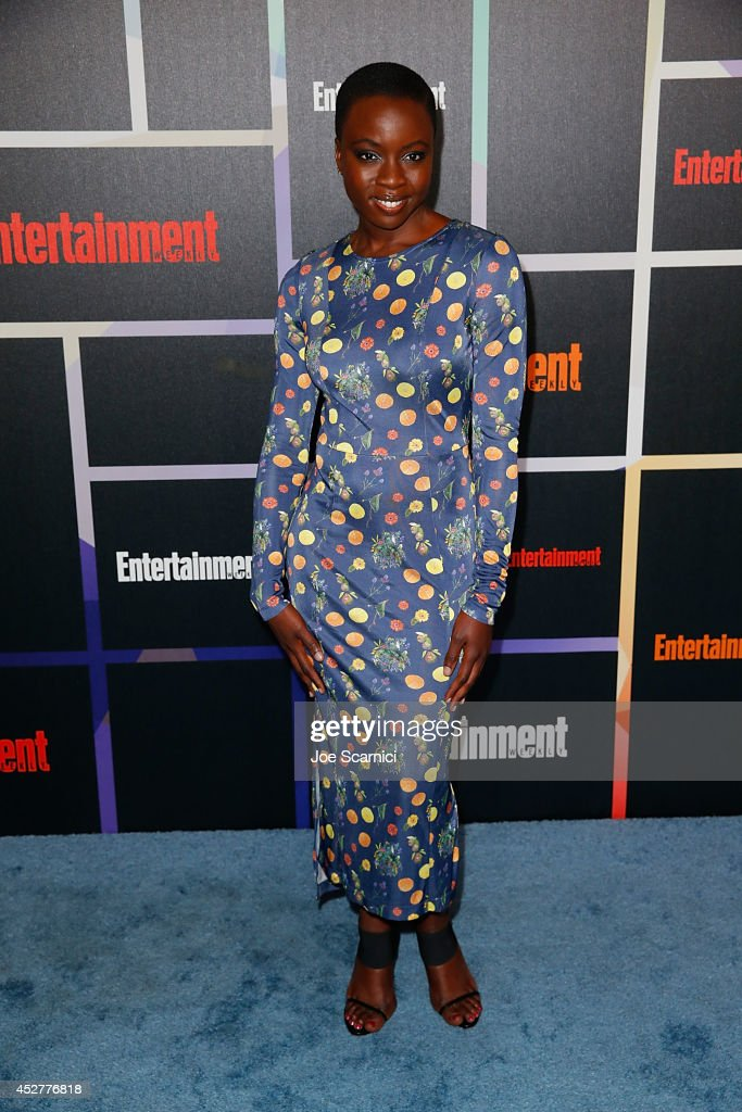 <a gi-track='captionPersonalityLinkClicked' href=/galleries/search?phrase=Danai+Gurira&family=editorial&specificpeople=4488413 ng-click='$event.stopPropagation()'>Danai Gurira</a> arrives to Entertainment Weekly's Annual Comic Con Celebration during Comic-Con International 2014 at Float at Hard Rock Hotel San Diego on July 26, 2014 in San Diego, California.