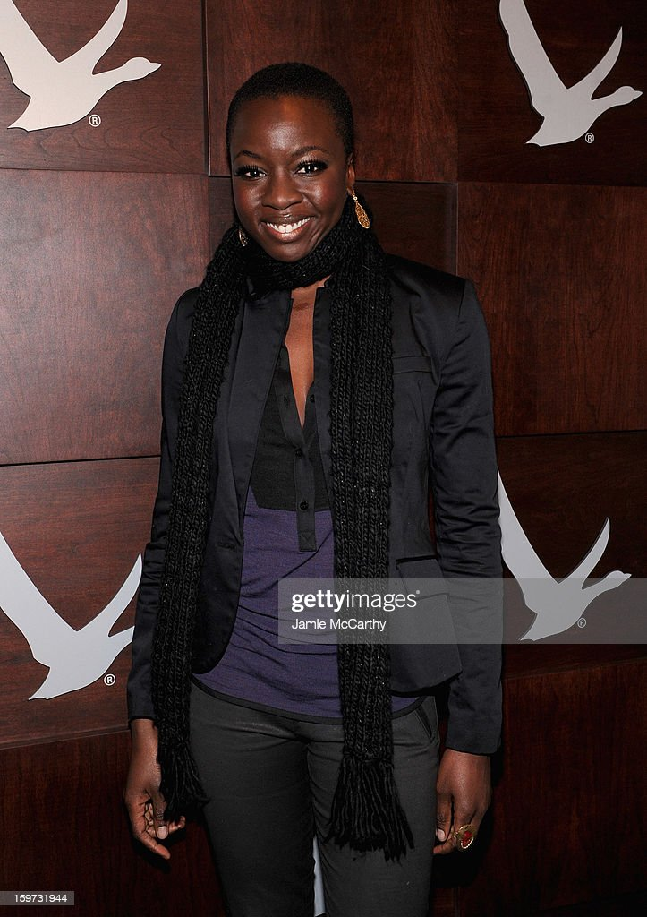 Danai Gurira at the Grey Goose Blue Door on January 19, 2013 in Park City, Utah.