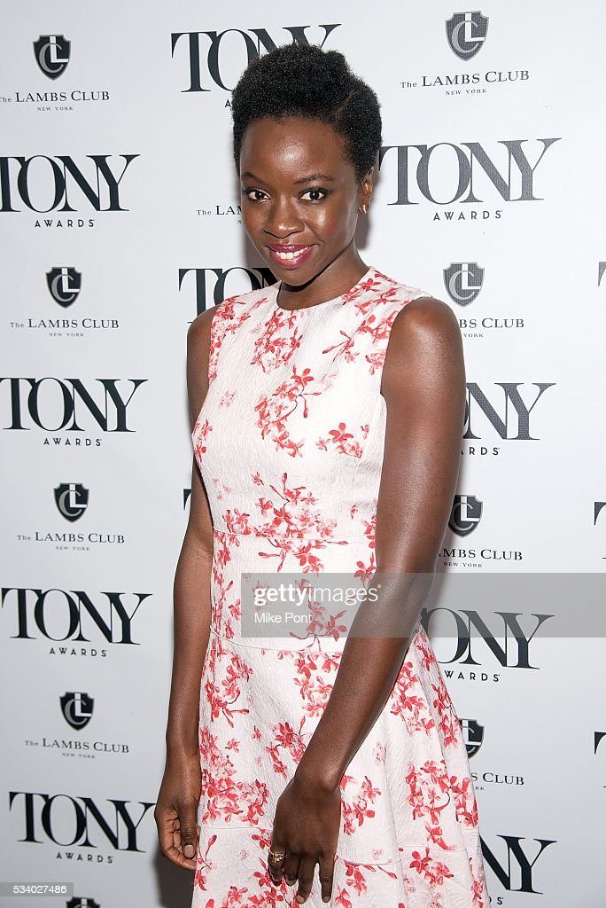 <a gi-track='captionPersonalityLinkClicked' href=/galleries/search?phrase=Danai+Gurira&family=editorial&specificpeople=4488413 ng-click='$event.stopPropagation()'>Danai Gurira</a> attends A Toast to the 2016 Tony Awards Creative Arts Nominees at The Lambs Club on May 24, 2016 in New York City.