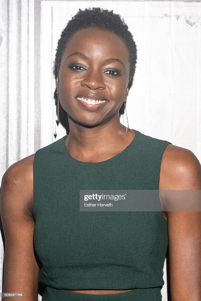 <a gi-track='captionPersonalityLinkClicked' href=/galleries/search?phrase=Danai+Gurira&family=editorial&specificpeople=4488413 ng-click='$event.stopPropagation()'>Danai Gurira</a> attends at AOL Studios In New York on February 11, 2016 in New York City.