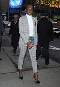 Celebrity Sightings in New York City - February 22, 2018