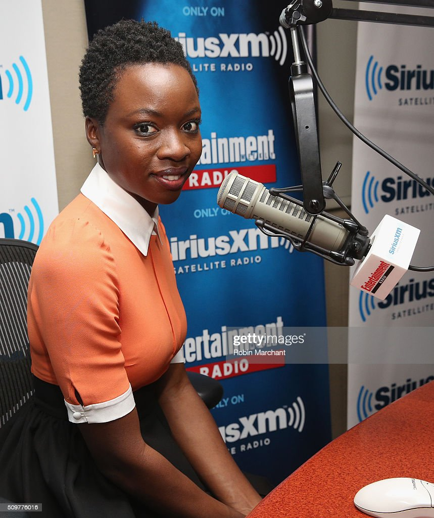 <a gi-track='captionPersonalityLinkClicked' href=/galleries/search?phrase=Danai+Gurira&family=editorial&specificpeople=4488413 ng-click='$event.stopPropagation()'>Danai Gurira</a> visits Entertainment Weekly Radio at SiriusXM Studios on February 12, 2016 in New York City.