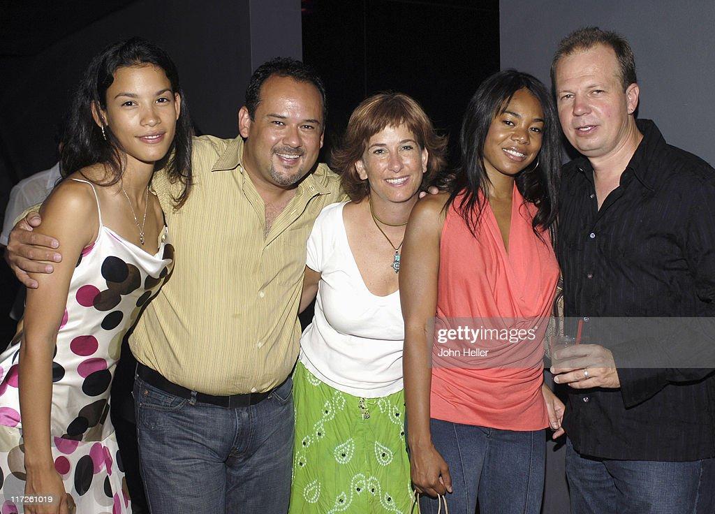 Danay Garcia, Mark Roberts, executive producer of Danika, Lorena David, producer of Danika Regina Hall and Daniel Bickel, producer of Danika