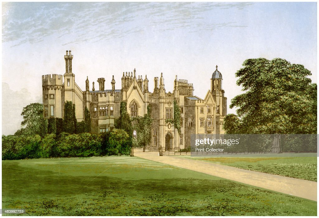 Danbury Palace Essex home of the Bishop of Rochester c1880 The house was built in 1832 It was acquired by the Church of England in 1845 and became...