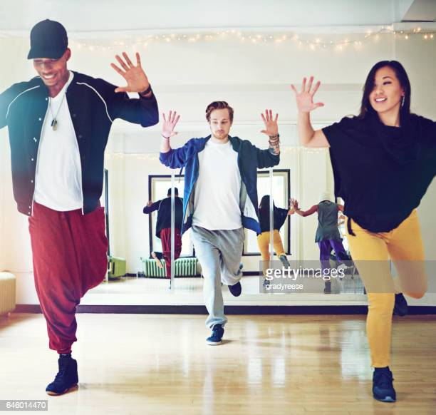 Dance class - where technique and passion meet