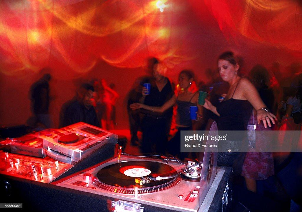 Dance club : Stock Photo