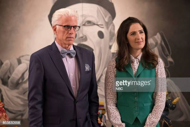 PLACE 'Dance Dance Resolution' Episode 203 Pictured Ted Danson as Michael D'Arcy Carden as Janet