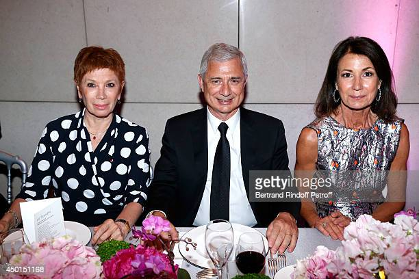 Dance Director of the 'Opera de Paris' Brigitte Lefevre President of the National Assembly Claude Bartolone and Chair of the Honorary Committee of...