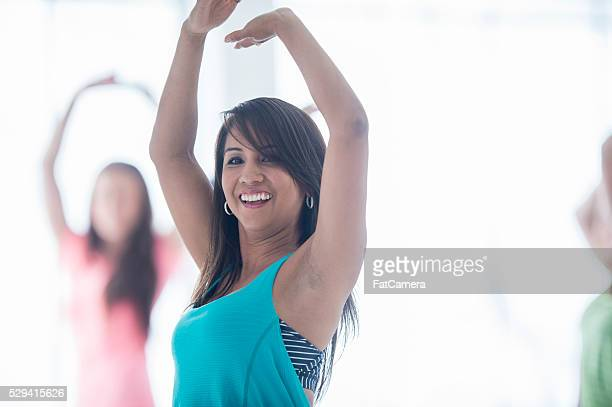 Dance Fitness Class at the Gym
