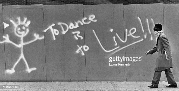 Dance Graffiti and Elderly Pedestrian