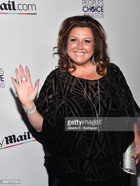 Dance instructor Abby Lee Miller attends DailyMail's after party for 2016 People's Choice Awards at Club Nokia on January 6 2016 in Los Angeles...