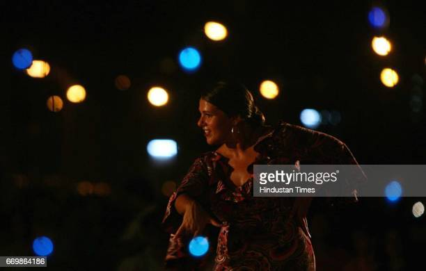 Dance Maria Del Sol a flamenco dancer from Malta performs at the Carter Road promenade These cultural evenings are held twice a month at the Bandra...