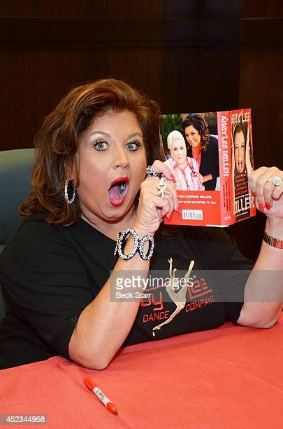 'Dance Moms' TV personality Abby Lee Miller signs and discusses her new book 'Everything I Learned About Life I Learned In Dance Class' at Barnes...