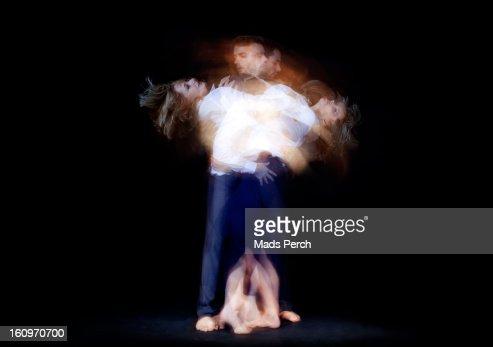 Dance / Multiple Exposure : Stock Photo