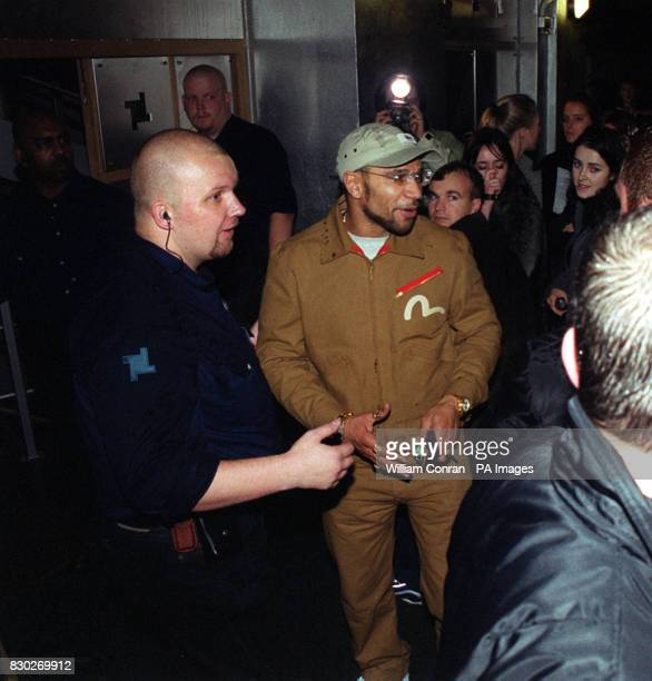 Dance music star Goldie being turned away by bouncers on the opening of the new nightclub Fabric in London because the club was full