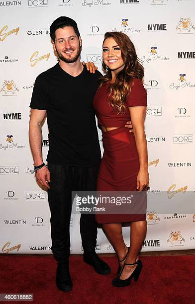 TV dance personality Val Chmerkovskiy and Jenna Johnson performs 'Sway A Dance Trilogy' produced by Dance With Me Studios at The Space at Westbury on...