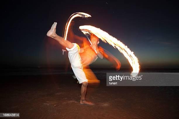 Dance With Fire, Jericoacoara, Brazil