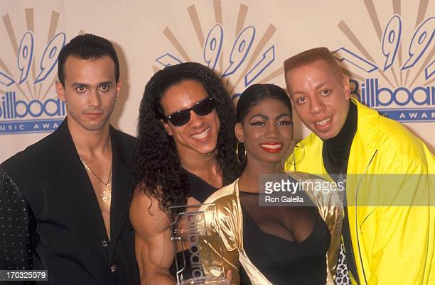 Dance/Pop group C C Music Factory attends the Second Annual Billboard Music Awards on December 3 1991 at the Barker Hangar Santa Monica Air Center in...