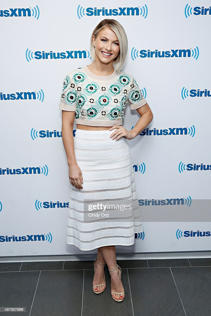 Dancer/ actress Julianne Hough visits the SiriusXM Studios on October 16 2014 in New York City