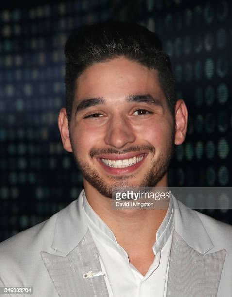 Dancer Alan Bersten attends 'Dancing with the Stars' season 25 at CBS Televison City on September 18 2017 in Los Angeles California