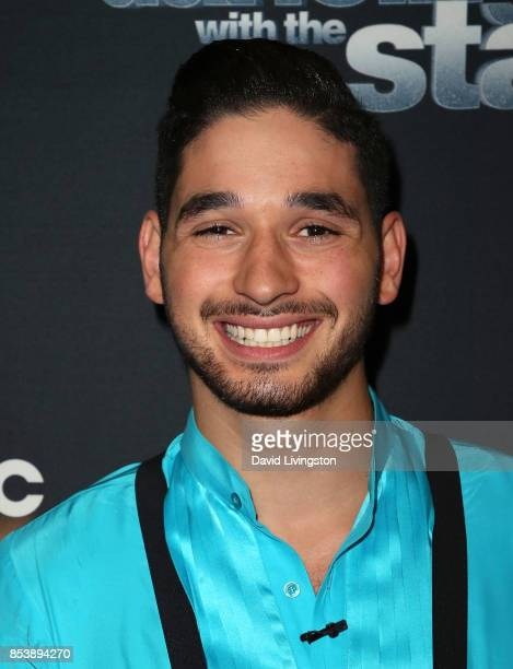 Dancer Alan Bersten attends 'Dancing with the Stars' season 25 at CBS Televison City on September 25 2017 in Los Angeles California